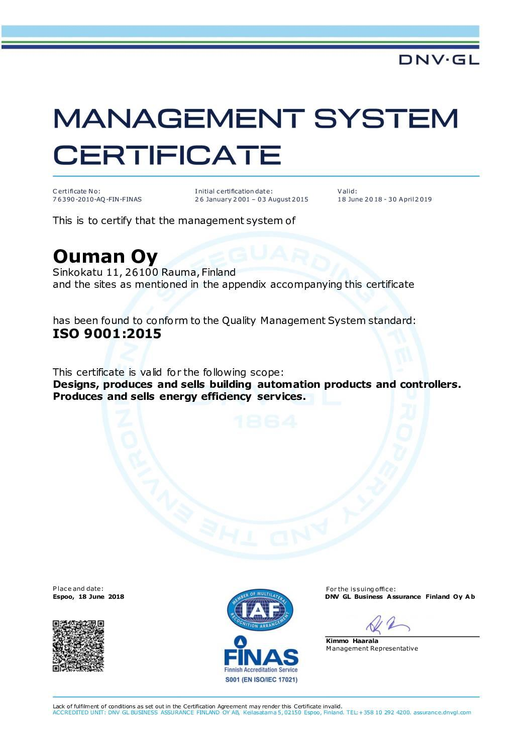 ISO 9001:2015 ENG